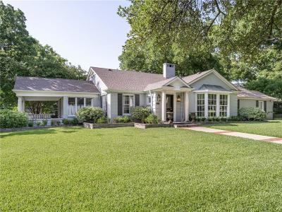 Fort Worth Single Family Home For Sale: 3915 Lenox Drive