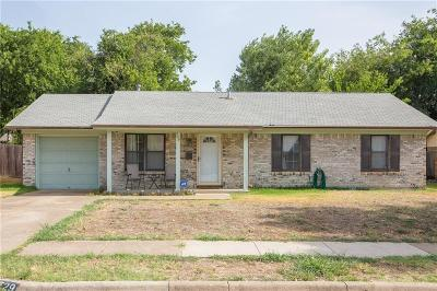 Crowley Single Family Home For Sale: 729 E Mustang Street