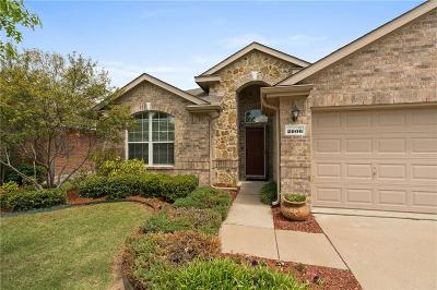Forney Single Family Home Active Option Contract: 2006 Colorado Bend Drive