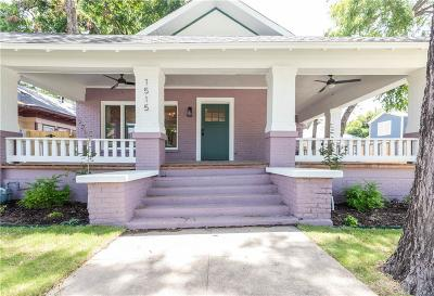Fort Worth Single Family Home For Sale: 1515 S Adams
