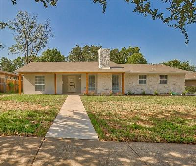 Dallas Single Family Home For Sale: 8588 Hanford Drive