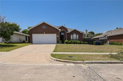 Garland Single Family Home For Sale: 1213 Bard Drive