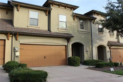 Irving Townhouse For Sale: 4105 Nia Drive