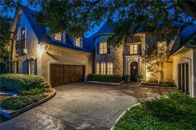 Plano Single Family Home For Sale: 6505 Twin Oaks Drive