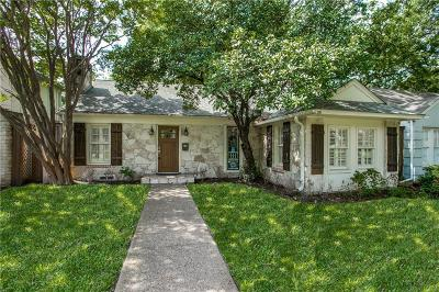 Dallas Single Family Home For Sale: 5622 Matalee Avenue