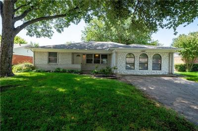 Richardson Single Family Home For Sale: 1207 Dearborn Drive
