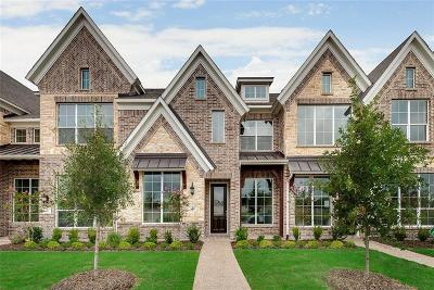 Mckinney Townhouse For Sale: 4921 McKinney Hollow Drive