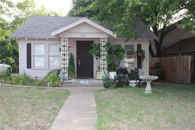 Dallas Single Family Home For Sale: 1227 S Oak Cliff Boulevard