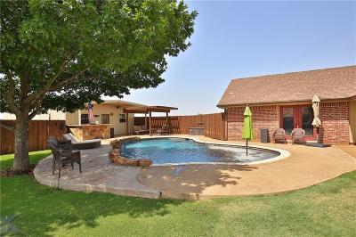Abilene Single Family Home Active Option Contract: 125 Sanford Lane