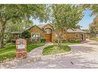 Fort Worth Single Family Home For Sale: 800 Shady Glen Court