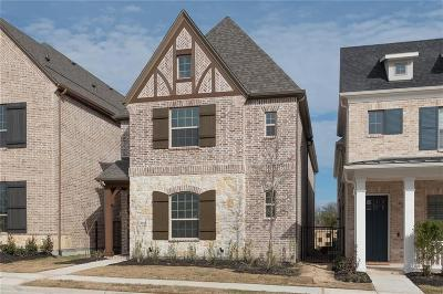 Allen Single Family Home For Sale: 1058 Drew