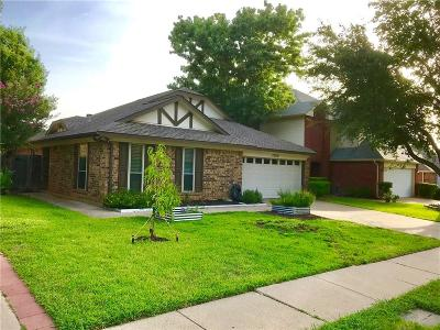 Grapevine Single Family Home For Sale: 1520 Briarcrest Drive