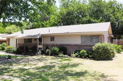 Benbrook Single Family Home Active Option Contract: 1109 Benbrook Terrace