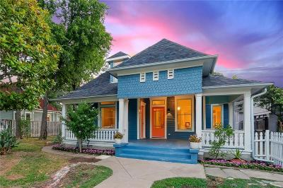 Fort Worth Single Family Home Active Kick Out: 1316 5th Avenue