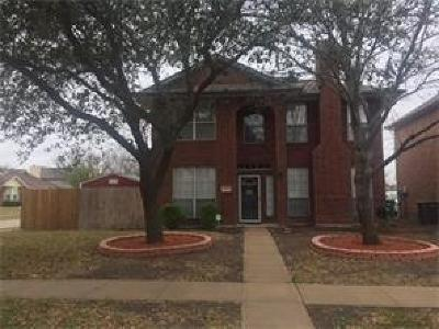 Rowlett Single Family Home For Sale: 2801 Lois Lane