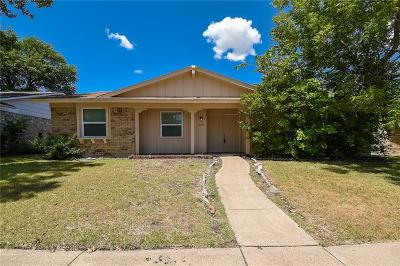 Garland Single Family Home For Sale: 2909 Golden Meadow Drive