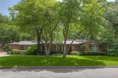 Fort Worth Single Family Home For Sale: 2705 Harlanwood Drive