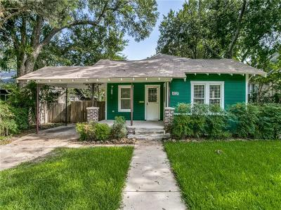 Dallas Single Family Home For Sale: 6018 Goliad Avenue