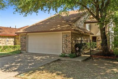 Garland Single Family Home Active Contingent: 2425 Centaurus Drive