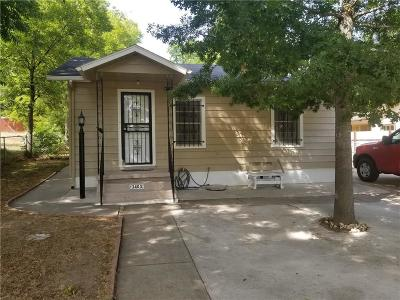 Fort Worth Single Family Home For Sale: 3403 30th Street