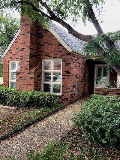 Abilene Townhouse For Sale: 100 Mesa Spring Circle