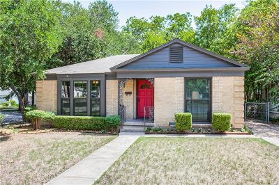 Dallas Single Family Home For Sale: 2602 Burlington Boulevard