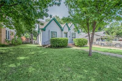 Fort Worth Single Family Home For Sale: 2920 Meadowbrook Drive