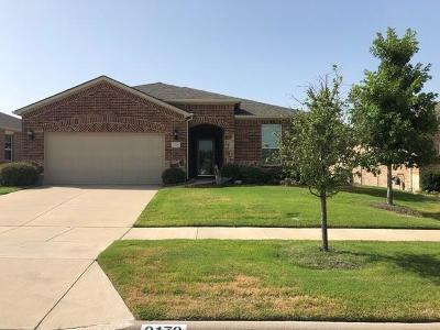 Frisco Single Family Home For Sale: 2179 Cane Hill Drive