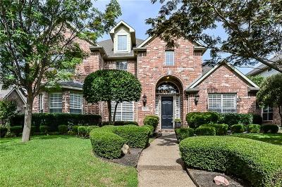 Plano Single Family Home Active Contingent: 8013 Ashby Court