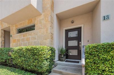 Dallas Townhouse For Sale: 3800 Holland Avenue #13