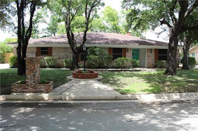 North Richland Hills Single Family Home Active Option Contract: 6821 Corona Drive