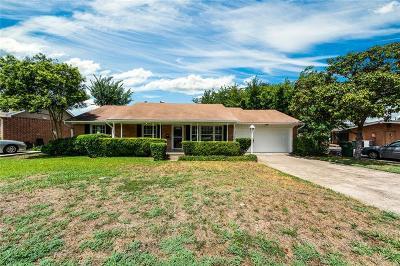 Garland Single Family Home For Sale: 3117 Watson Drive