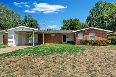 Irving Single Family Home For Sale: 2444 Cambridge Drive
