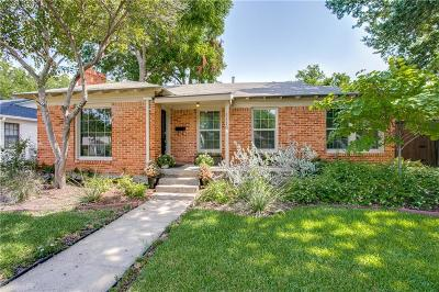 Dallas Single Family Home For Sale: 5118 Lahoma Street