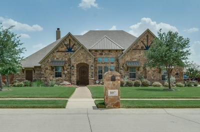 Haslet Single Family Home For Sale: 107 Blue Stem Lane