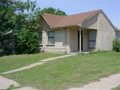 Dallas Half Duplex For Sale: 9404 Gonzales Drive