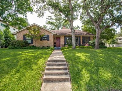 Dallas Single Family Home For Sale: 9406 Overwood Road