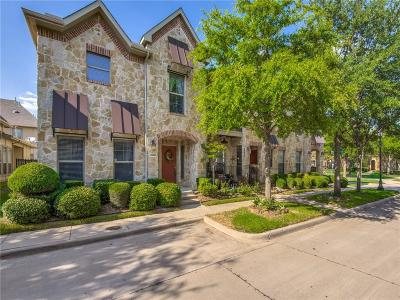 Mckinney Townhouse For Sale: 8908 Trolley Trail