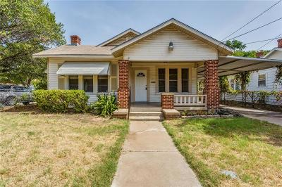 Fort Worth Single Family Home For Sale: 2801 Dell Street
