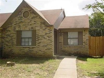 Dallas Half Duplex For Sale: 9468 Gonzales Drive