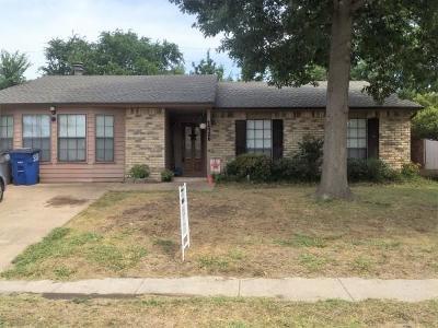 Allen TX Single Family Home For Sale: $200,000