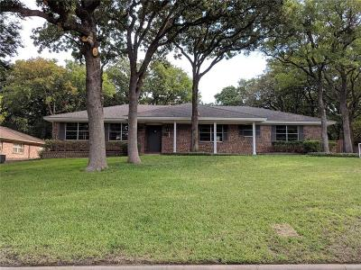 Bedford Single Family Home Active Option Contract: 709 Hurst Drive