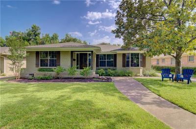 Dallas Single Family Home For Sale: 7030 Haverford Road