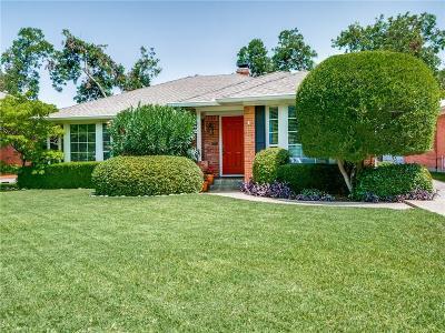 Single Family Home For Sale: 6169 Monticello Avenue