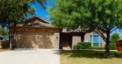 Weatherford Single Family Home For Sale: 1837 Roadrunner Drive