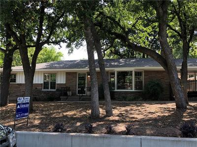 Fort Worth Single Family Home For Sale: 2101 Junius Street