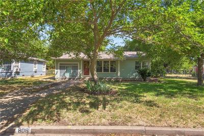 Single Family Home For Sale: 806 Turner Street