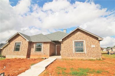 Abilene Single Family Home For Sale: 4102 Forrest Creek Court