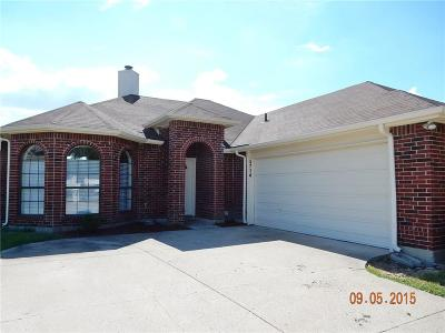 Rowlett Residential Lease For Lease: 5714 Cypress Drive