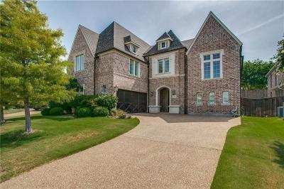 Allen Single Family Home For Sale: 1598 Boyle Parkway
